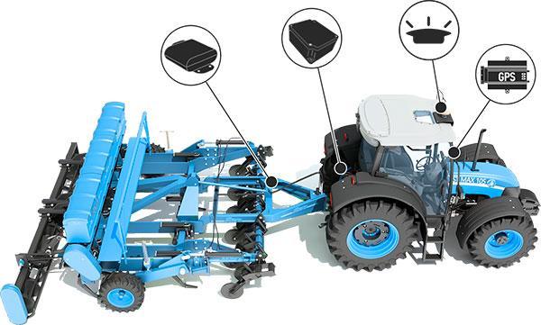 Интеграция с системами точного земледелия