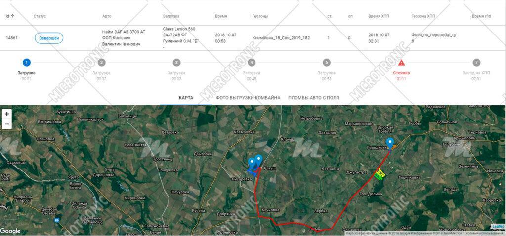 """Система """"Свой-чужой"""" для контроля урожая с помощью GPS"""