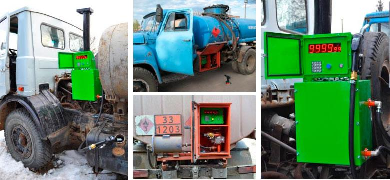 Мобильная топливораздаточная колонка МТРК