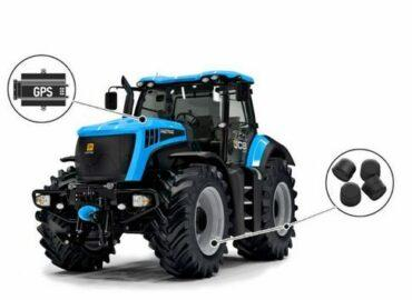 Контроль давления в шинах на сельхозтехнике